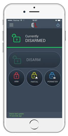 MyElas App op de iPhone 6